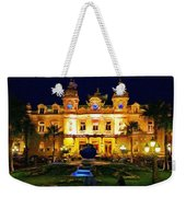 Casino Monte Carlo Weekender Tote Bag by Jeff Kolker