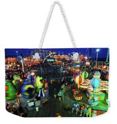 Casino Pier At Seaside Heights Weekender Tote Bag