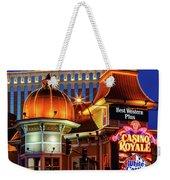 Casino Royale Weekender Tote Bag