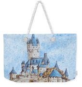 Castle On The River Rhine Weekender Tote Bag