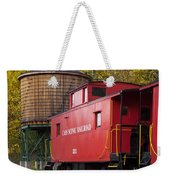 Cass Railroad Caboose Weekender Tote Bag