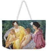 Cassatt: The Swim, 1910 Weekender Tote Bag