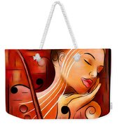 Casselopia - Violin Dream Weekender Tote Bag
