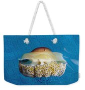 Cassiopeia Jellyfish Abstract Weekender Tote Bag