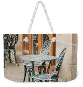 Cast Iron Garden Furniture Weekender Tote Bag
