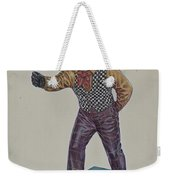 Cast Iron Hitching Post Weekender Tote Bag