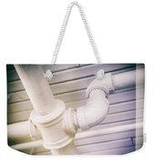 Cast Iron Plumbing Weekender Tote Bag