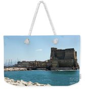Castel Dell'ovo, Naples, Italy Weekender Tote Bag