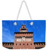 Castello Sforzesco Tower Weekender Tote Bag