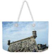 Castelo Do Queijo Old Fort Landmark In Porto Portugal Weekender Tote Bag