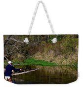 Casting For Trout Weekender Tote Bag