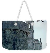 Castle And Church Athlone Ireland Weekender Tote Bag