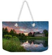 Castle And Pond Weekender Tote Bag