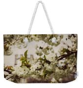 Castle Blossoms Weekender Tote Bag