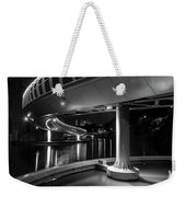 Castle Bridge B By Night Bristol England Weekender Tote Bag