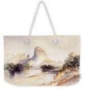 Castle Butte, Green River, Wyoming Weekender Tote Bag