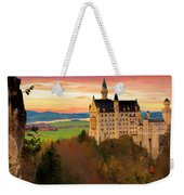 Castle Dawn Weekender Tote Bag