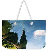 Castle In The Lake Weekender Tote Bag