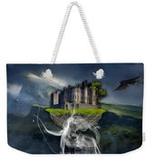 Castle In The Sky Art Weekender Tote Bag