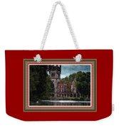 Castle Kapadia. L B With Decorative Ornate Printed Frame. Weekender Tote Bag