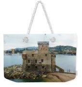 Castle Of Rapallo Weekender Tote Bag
