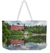 Castle On The Lake Weekender Tote Bag