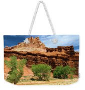 Castle Over Cottonwoods Weekender Tote Bag