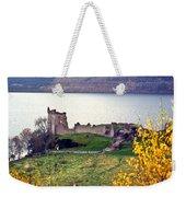 Castle Ruins Scotland Weekender Tote Bag