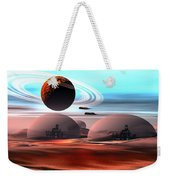 Castles In The Sand Weekender Tote Bag by Corey Ford
