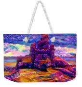 Castles In The Sand Cs-1a Weekender Tote Bag