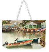 Castries Harbor Waterfront Weekender Tote Bag