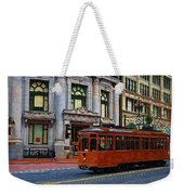 Castro Street Trolley Weekender Tote Bag