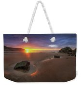 Caswell Bay Sunrise Weekender Tote Bag