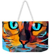 Cat 10 Weekender Tote Bag