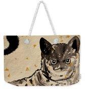 Cat 3 Weekender Tote Bag