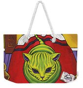 Cat - Alien Abduction Weekender Tote Bag
