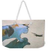 Cat And Lizard  Weekender Tote Bag