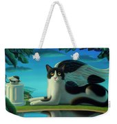Cat And Mouse 2 Weekender Tote Bag