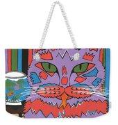 Cat Attack Weekender Tote Bag