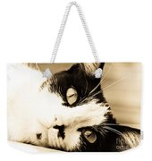 Cat Days Of Summer Weekender Tote Bag
