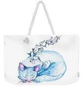 Cat Dreams Weekender Tote Bag