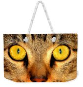 Cat Face Portraiture Weekender Tote Bag