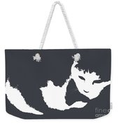 Cat In Black And White Weekender Tote Bag