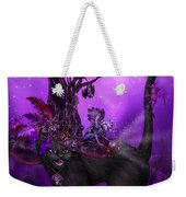 Cat In Goth Witch Hat Weekender Tote Bag