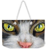 Cat In Pastel Weekender Tote Bag