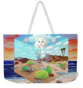 Cat In The Box Weekender Tote Bag