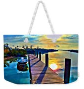 Cat Island Weekender Tote Bag