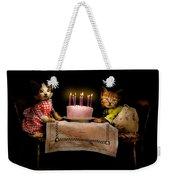 Cat - It's Our Birthday - 1914 Weekender Tote Bag