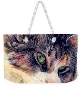 Cat Jasper Weekender Tote Bag