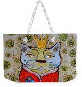Cat-king Weekender Tote Bag